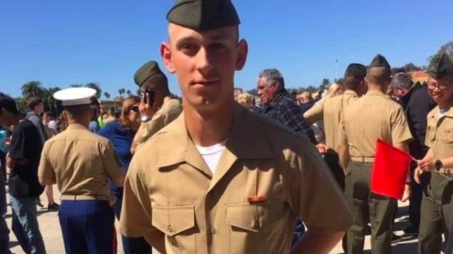Lance Cpl. Chase D. Sweetwood as pictured on GoFundMe page created by his aunt.