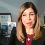 District Attorney Summer Stephan during Zoom session at bench-bar-media event.
