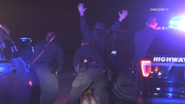 Carjacking suspect surrenders to officers