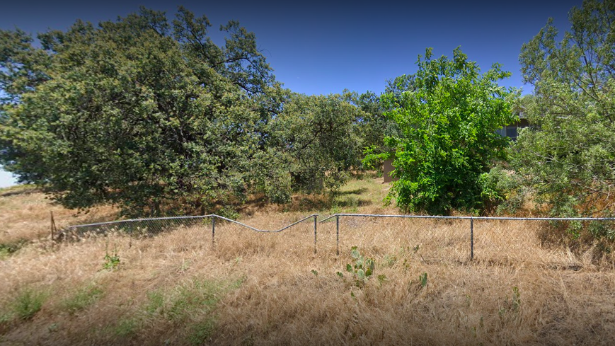 A Google street view image of the property in June 2019 showed heavy growth off Viejas Grade Road.