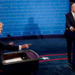 President Trump and Joe Biden debate