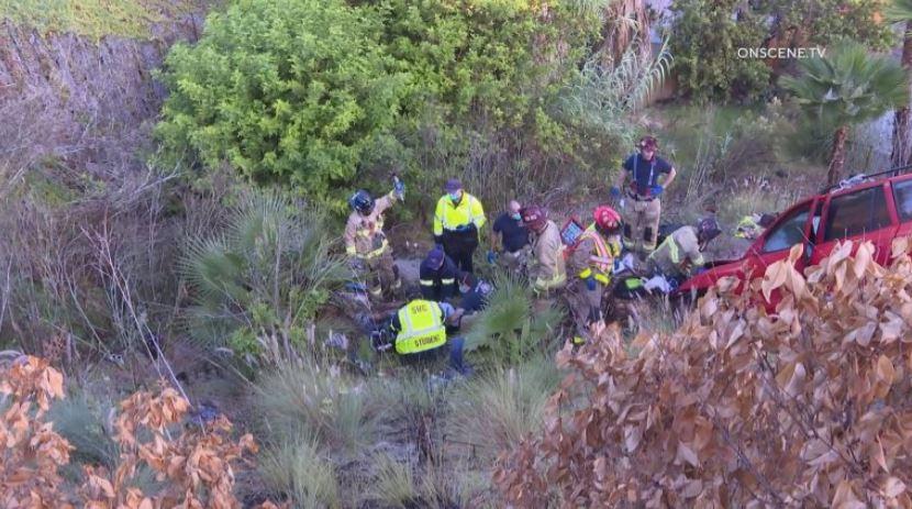 SUV Passenger Killed in Solo Crash Down Embankment in ...