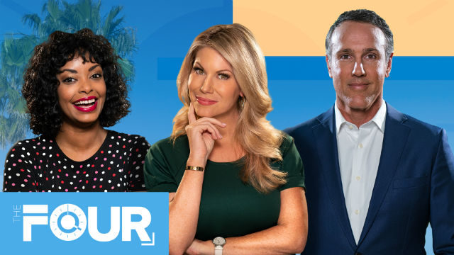 "Promotion for CBS 8 ""The Four"""