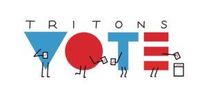 Tritons Vote logo