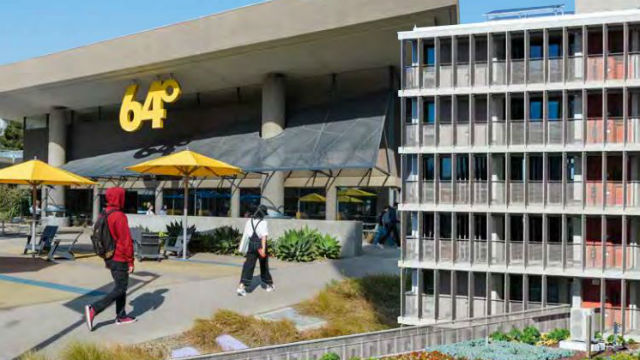 Student housing and dining at UC San Diego