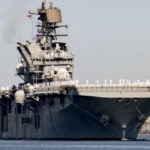 USS Tripoli arrives in San Diego