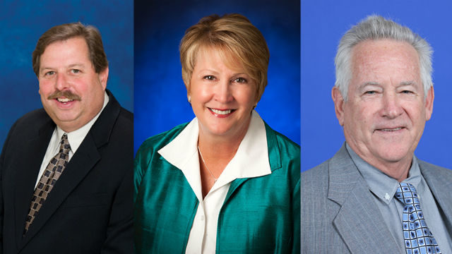 New water authority officers
