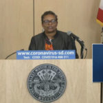 Dr. Wlma Wooten speaks at Wednesday's media briefing