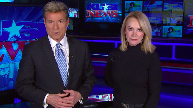 Allen Denton and Sandra Maas were co-anchors of the KUSI nightly news. But she learned he was paid $70,000 more than her in 2018-2019.