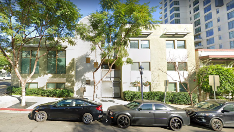 The Cortez Hill property at 1449 Ninth Ave. was most recently the site of a center that housed homeless families.