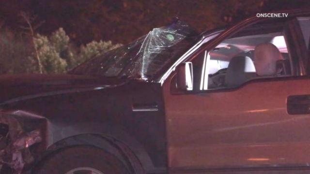 Damage to vehicle in crash