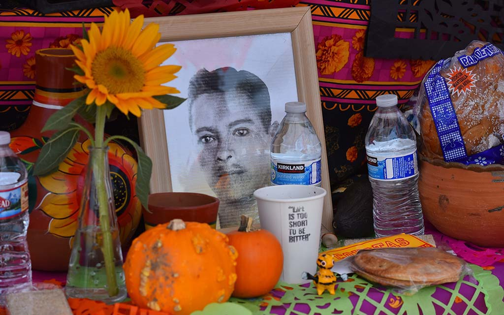 Visitors to the City Heights Día de los Muertos celebration voted for their favorite altar.