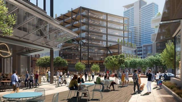 Rendering of East Village Quarter development