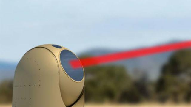 High-energy laser beam