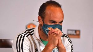 Loyal executive vice president and manager Landon Donovan said living by values meant more than game victories.