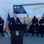 DEA Acting Administrator Timothy J. Shea announces seizure