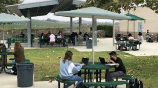 Students at Mission Vista High School