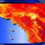 Heat wave deserts coast