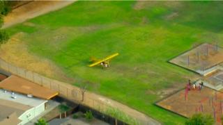 Pilot emergency landing