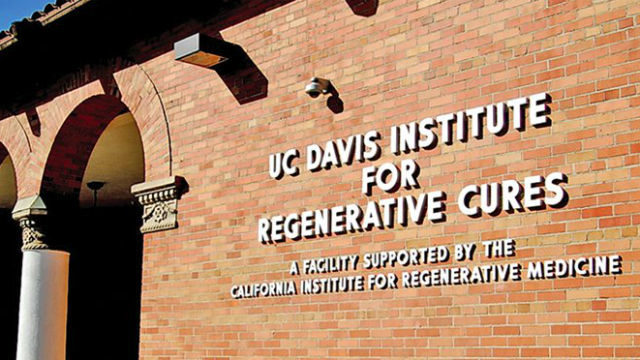 Stem cell research center at UC Davis