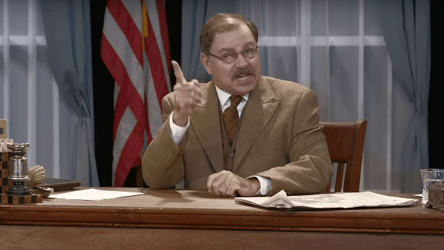Phil Johnson as Theodore Roosevelt