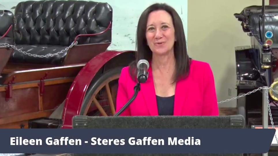 Eileen Gaffen of Steres Gaffen Media is new president of the San Diego Press Club.