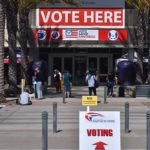 In-person early voting has begun at the San Diego Registrar of Voter office in Kearny Mesa.