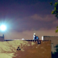 Police photo from 7:30 p.m. tweet shows man on top of City Heights rooftop. The Emergency Negotiation Team attempted to communicate with the man.