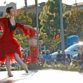 """Erin Mesaros performs in the drive-in performance of """"The Nutcracker"""" at Liberty Station."""