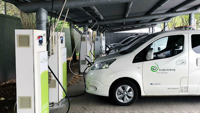 Nuvvee vehicle-to-grid installation