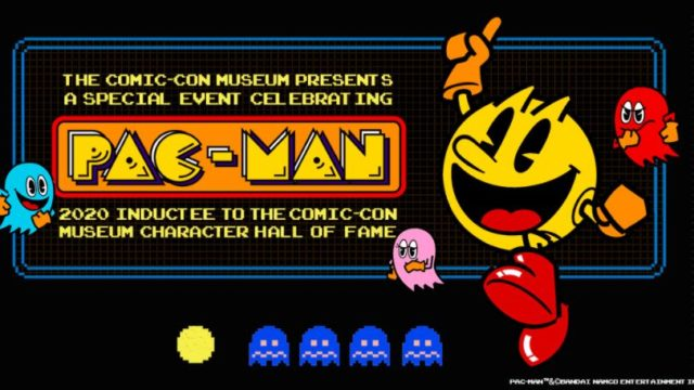 The PAC-MAN character. Courtesy Comic-Con