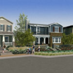Rendering of new homes in Park Circle