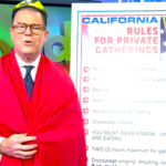 "KUSI meteorologist Mark Mathis makes fun of Gov. Gavin Newsom ""rules for private gatherings"" on Friday episode of ""Good Morning San Diego."""