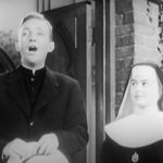 """Bing Crosby and Ingrid Bergman in """"The Bells of St. Mary's"""""""