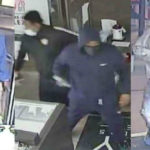 Surveillance images of suspects