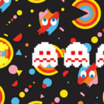 Pac-Man chases ghosts