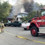 Mobile Home Park Fire