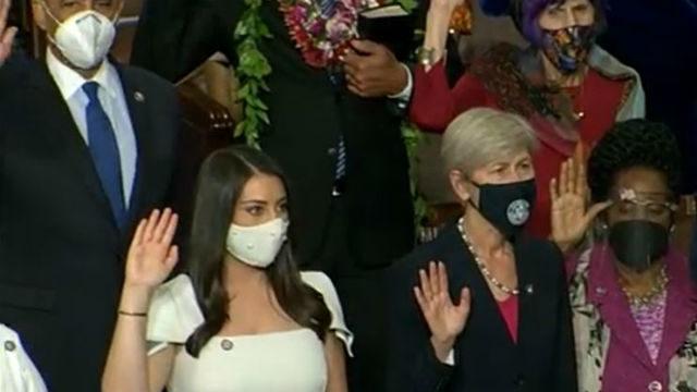 Sara Jacobs sworn in