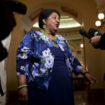 Shirley Weber in the Capitol