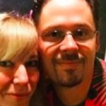 Kelly Cameron, with husband Tom, as pictured on GoFundMe page.