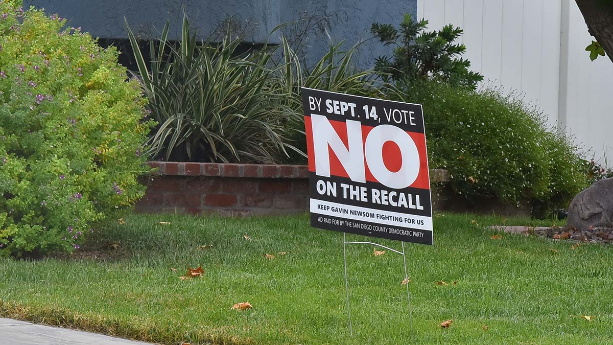 Opinion: California Recall Election Is Another Assault on Black Voters in America - Times of San Diego