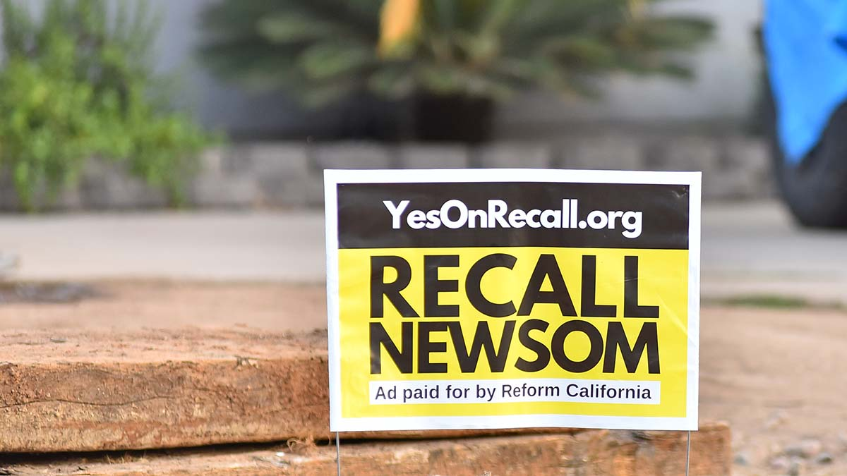 Study: Recall Election Voters Could Be 'Extraordinarily Unrepresentative' of California - Times of San Diego